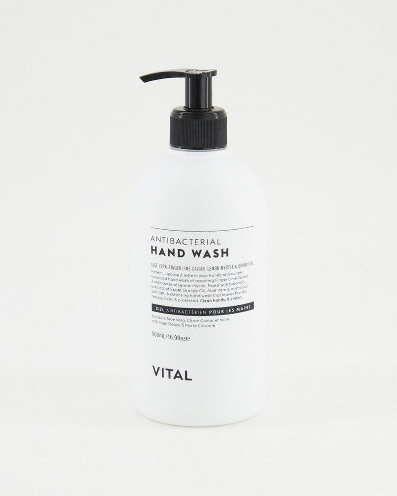 Vital Anti-Bacterial Hand Wash -  white
