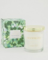 Serenity Candle -  green