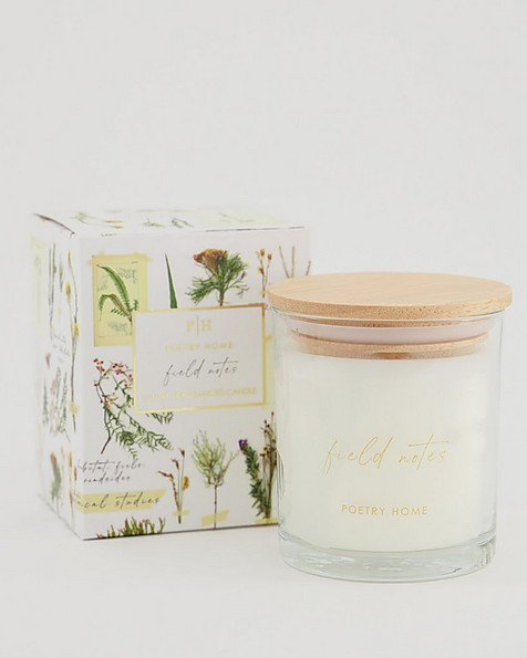 Field Notes Candle -  white