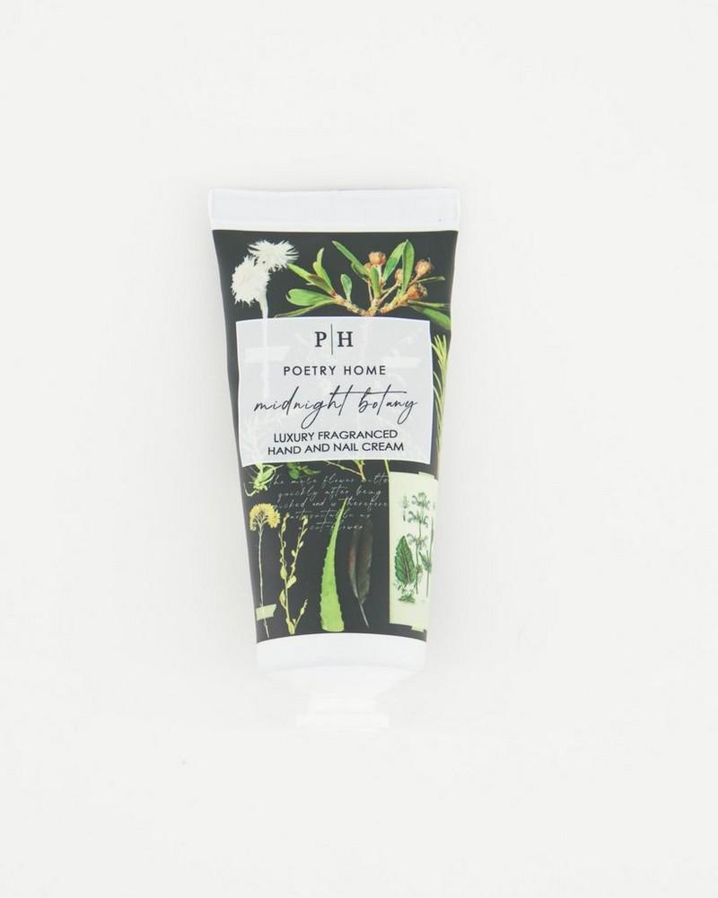 Midnight Botany Luxury Fragranced Hand & Nail Cream -  black