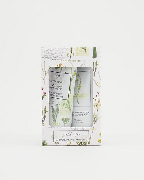 Field Notes Hand & Nail & Sanitiser 2pk -  white