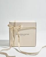 Amanda Jayne Night Bloom Glass Candle Set -  white