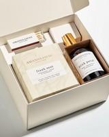 Amanda Jayne Fresh Zest Glass & Home Fragrance Set -  assorted