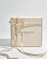 Amanda Jayne Greenhouse Glass Candle Set -  white