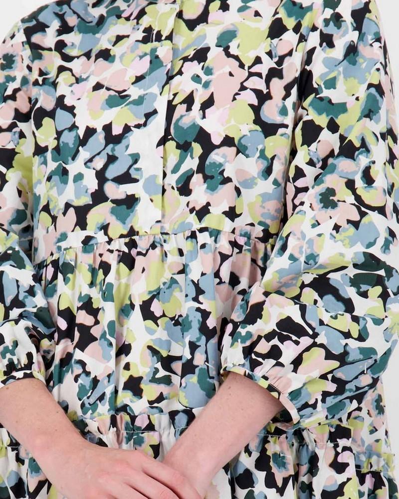 Avery Printed Dress -  pink