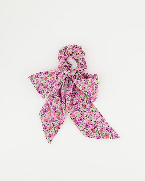 2-Pack Simoa Floral Bow & Scrunchie Set -  assorted