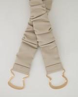 Anname Ruched Belt -  bone