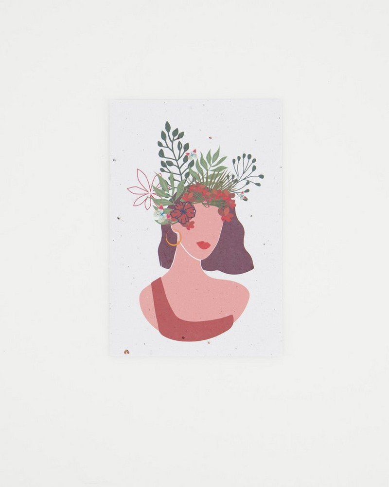 Growing Paper Independent Card -  assorted