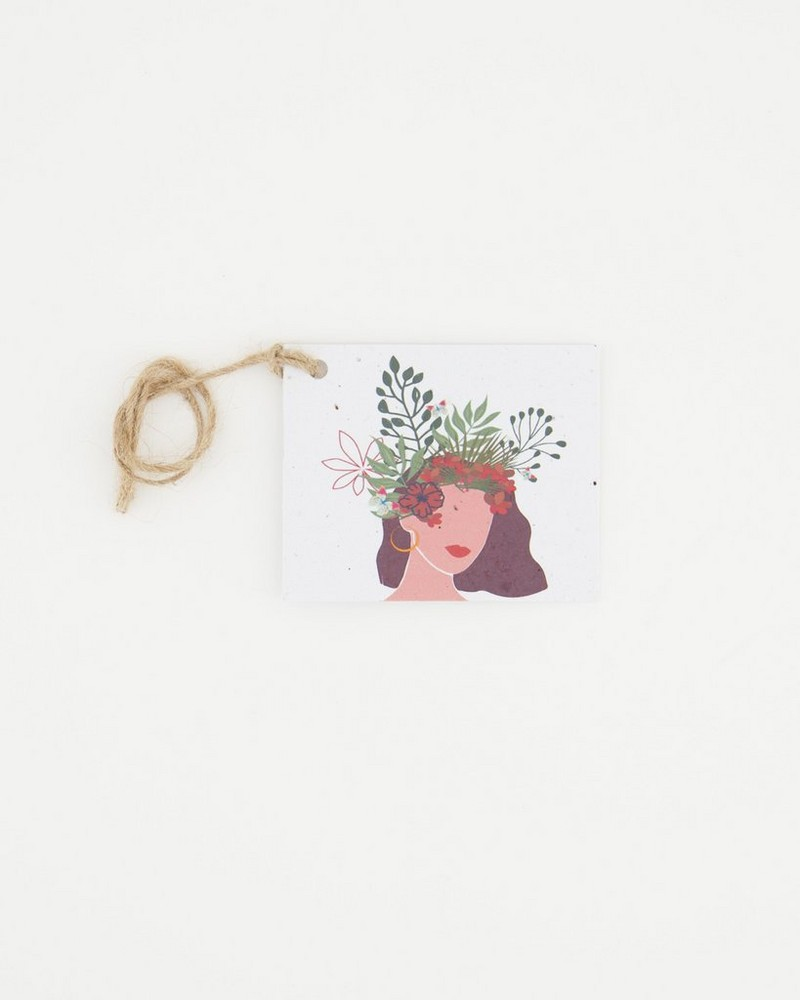 Growing Paper Independent Tag -  assorted