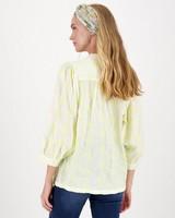 Mara Interest Blouse -  yellow