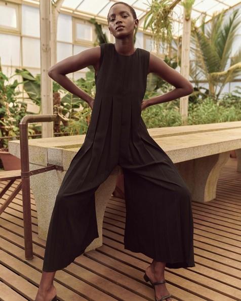 Poetry Remi Jumpsuit -  black