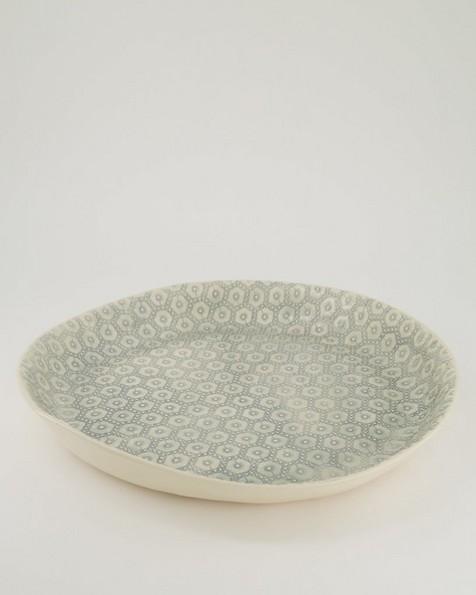 Wonki Ware Etosha Patterned Bowl -  grey