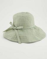 Ellen Wide Brim Hat -  green