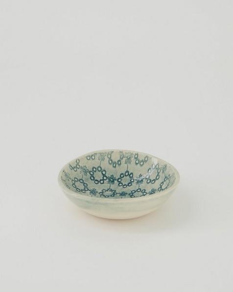 Wonki Ware Salt Bowl -  grey