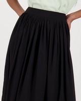 Alli Layered Skirt -  black