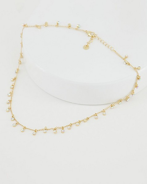 Delicate Tealight Necklace -  gold
