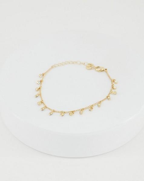 Delicate Tealight Bracelet -  gold