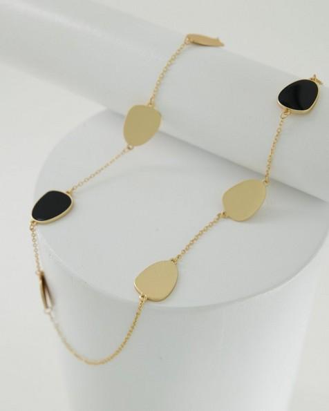 Satellite Necklace -  black