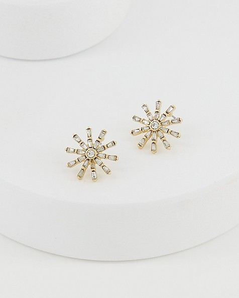 Starburst Stud Earrings -  camo