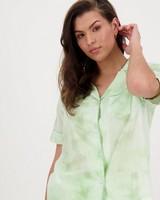 Tie Dye Pyjama Set -  green