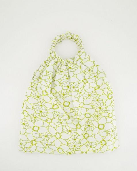Renita Ruched Tote Bag -  milk