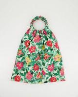 Renita Ruched Tote Bag -  summergreen