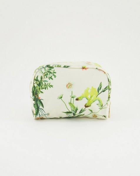 Dahlia Cosmetic Bag -  milk