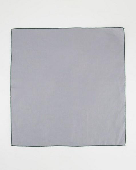 Set of Four Poetry Home Linen Napkins -  grey