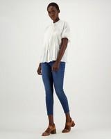 Nori Woven Shirt -  white