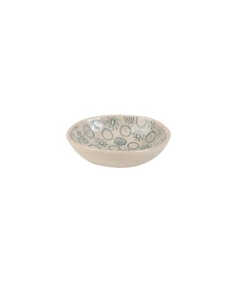 Wonki Ware Salt Bowl -  duck-egg