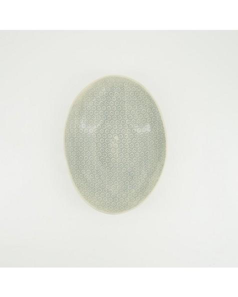 Wonki Ware Etosha Patterned Bowl -  duck-egg