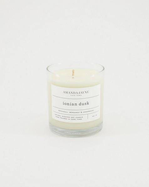 Amanda Jayne Ionian Dusk Glass Collection -  white