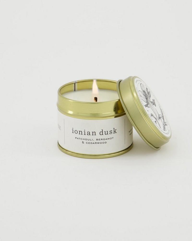 Amanda Jayne Ionian Dusk Gold Tin Collection -  white