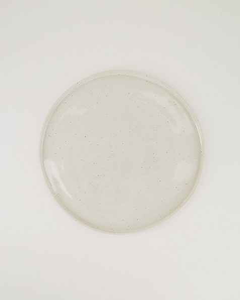 Pret-a-Pot Blom Dinner Plate -  white