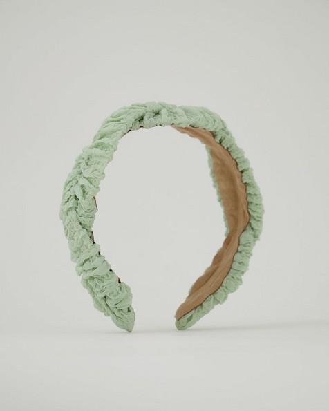 Berni Textured Aliceband -  lightgreen