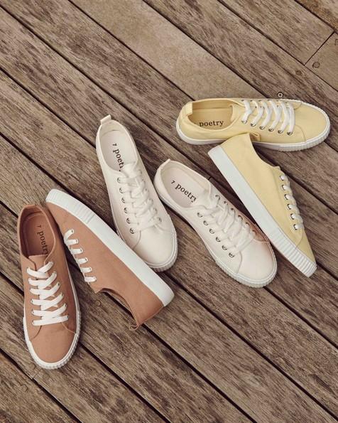 Fiona Sneaker  -  white