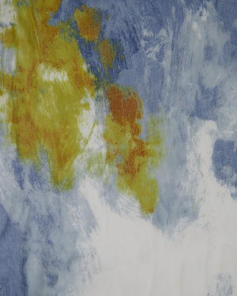 Nicci Abstract Modal Scarf -  blue