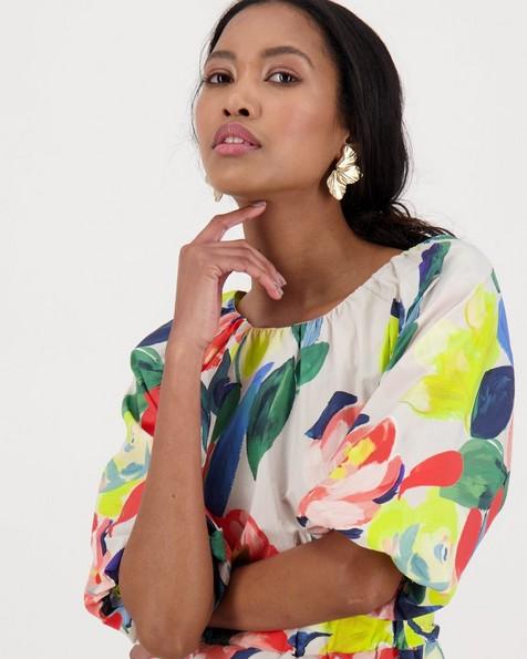 Sydney Printed Dress -  assorted