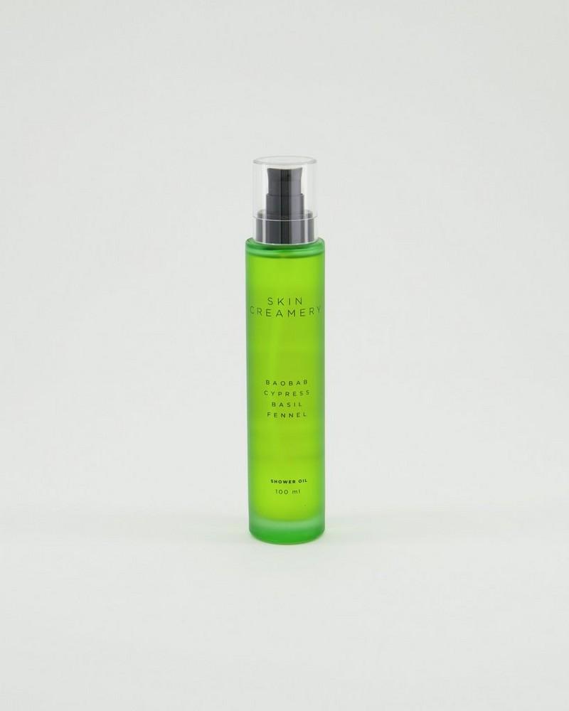 Skin Creamery Shower Oil -  chartreuse