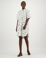 Cecil Printed Dress -  milk