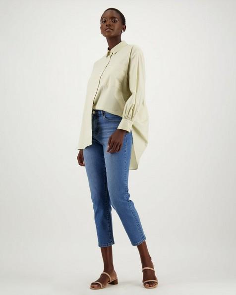 Laya Oversized Shirt -  stone
