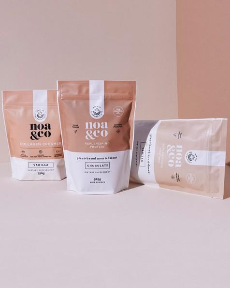Noa & Co Chocolate Replenishing Protein Powder  -  milk