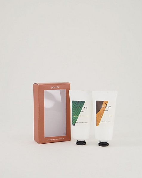 Malachite-Earthen Hand and Nail Cream 2pk -  assorted