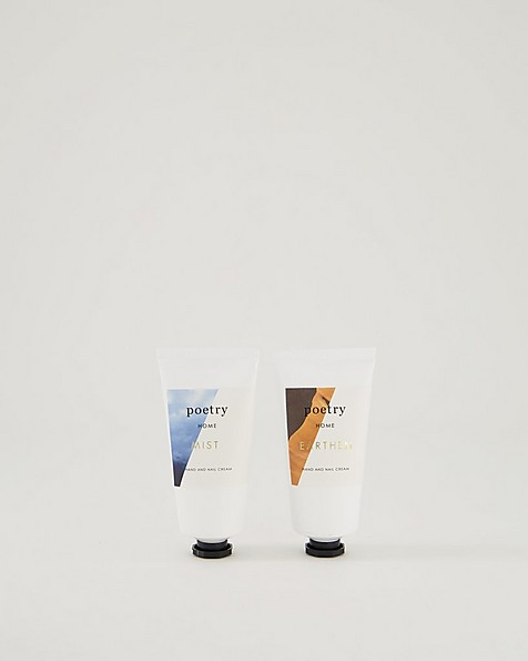 Mist-Earthen Hand and Nail Cream 2pk -  assorted