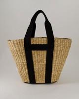 Nassina Basket Bag -  oatmeal