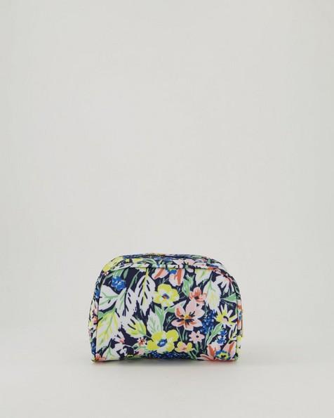 Dahlia Cosmetic Bag -  navy