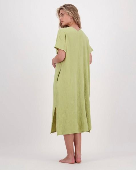 Emmy Lou Loungewear Dress -  avocado