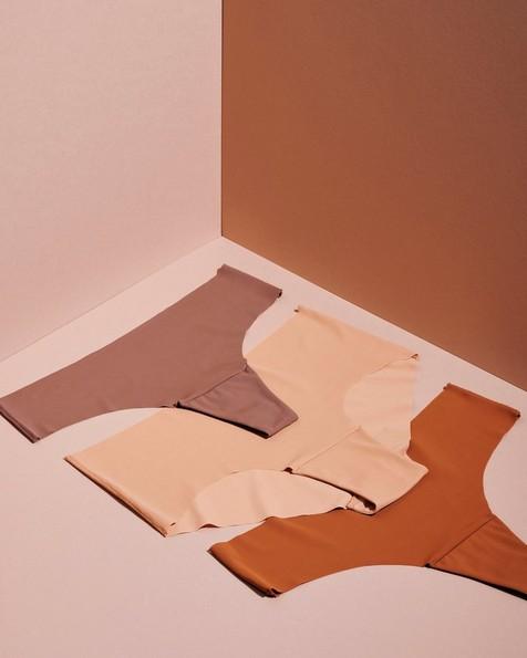 Gugu Intimates Zuri Brief -  copper