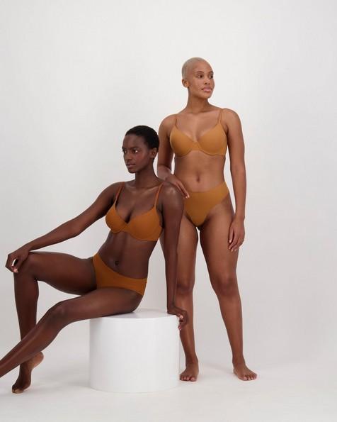 Gugu Intimates Amara Thong -  camel