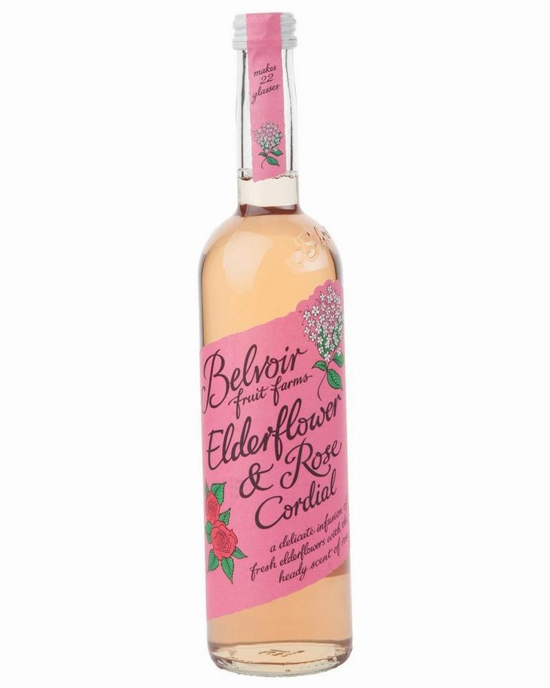 Belvoir Rose Elderflower Cordial -  pink-pink